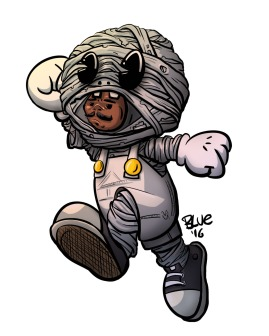 Super Mummy by Blue the Great