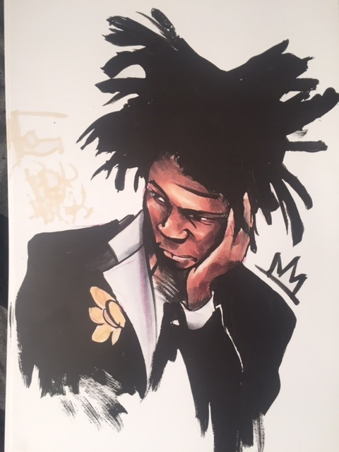 True Basquiat by Paper Frank